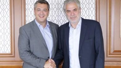 συνάντηση Τζιτζικώστα με τον επίτροπο της ΕΕ Χρήστο Στυλιανίδη