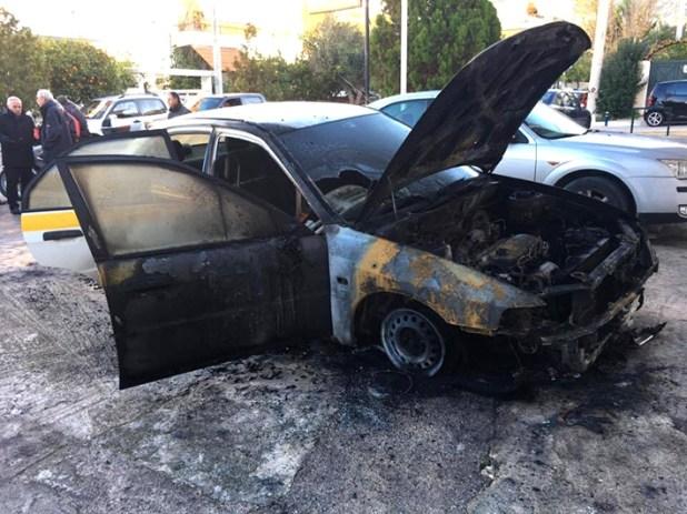 Έκαψαν αυτοκίνητο του Δήμου Ελληνικού-Αργυρούπολης