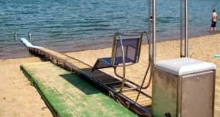 Παρουσίαση συσκευών αυτόνομης πρόσβασης (SEATRACK) στις 22/8/2017 στην παραλία Αγ. Ονουφρίου