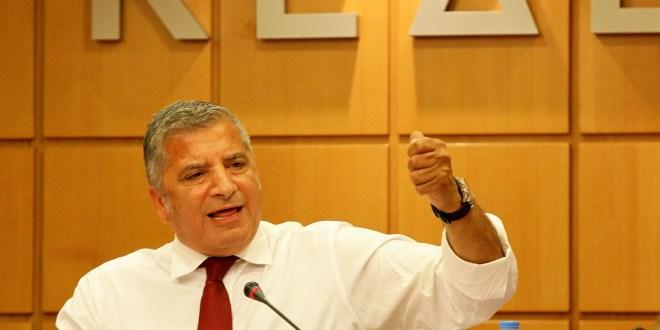 «Δεν καταθέτουμε τα ταμειακά διαθέσιμα των Δήμων στην Τράπεζα της Ελλάδος. Αν θέλει η κυβέρνηση να πάρει τα χρήματα μας, «Μολών Λαβέ»»
