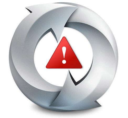 update-warning