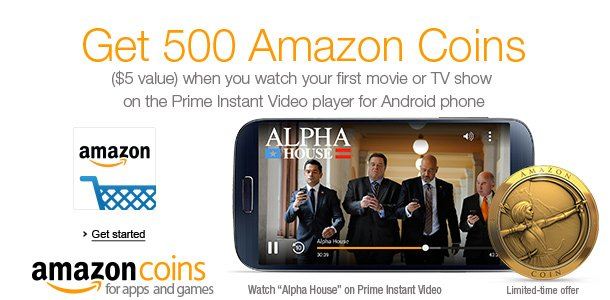 android app to watch amazon instant video