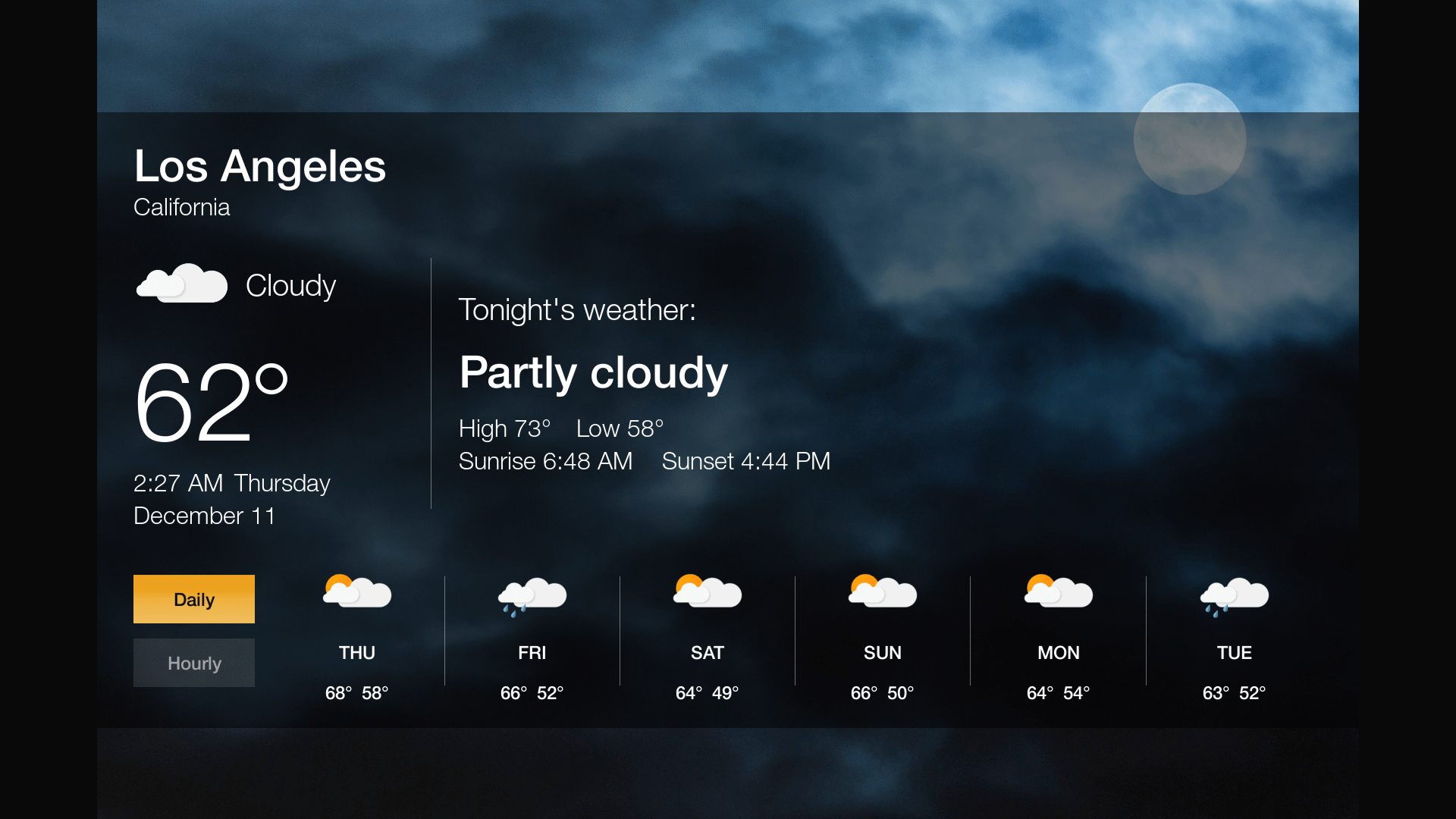 Amazon releases Official Weather App for the Fire TV and Fire TV Stick  #BF800C 1920 1080
