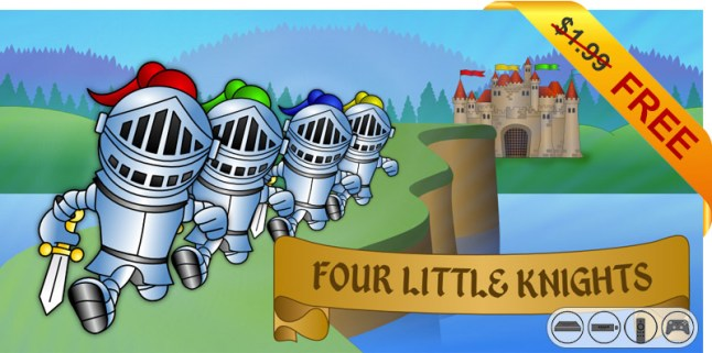 four-little-knights-199-free-deal-header