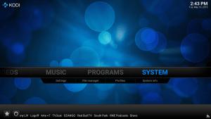 kodi-system