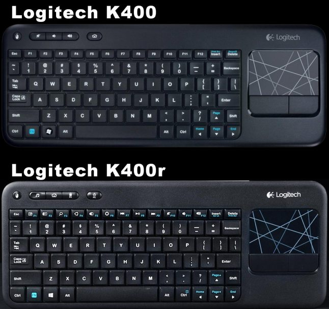 logitech-k400-vs-k400r-comparison-difference