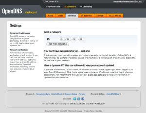 opendns-service-add-network