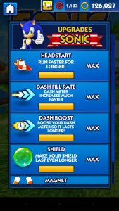 sonic-dash-promo-upgrades