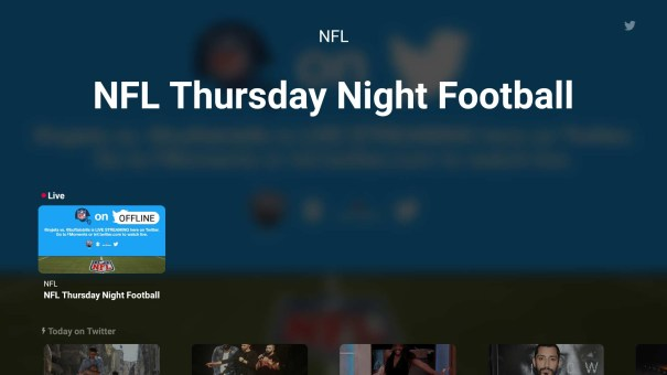 Twitter releases official Fire TV app with Free NFL streams and more
