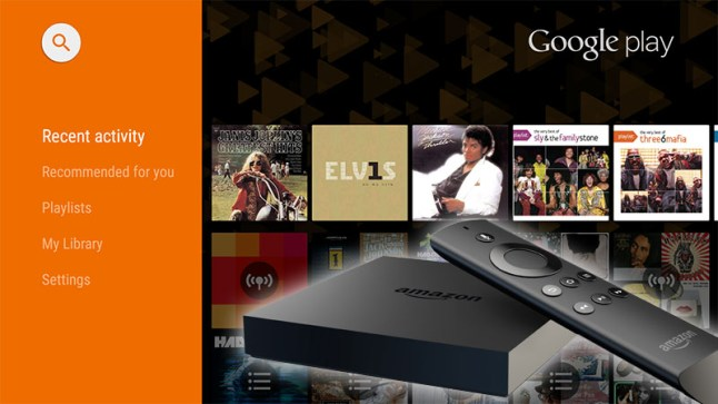 how to install android tv s google play music app on the amazon fire