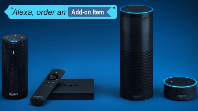 amazon add on items can be purchased through alexa by themselves aftvnews. Black Bedroom Furniture Sets. Home Design Ideas