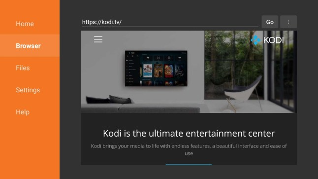 New Kodi website causing issues with ES File Explorer sideloading