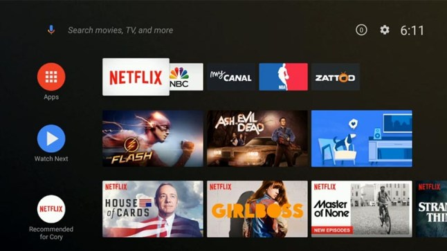 Top 10 things to know about the new Android TV home launcher