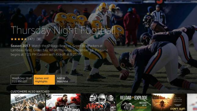 Amazon In Negotiations Against Youtube Twitter And Verizon For Nfl