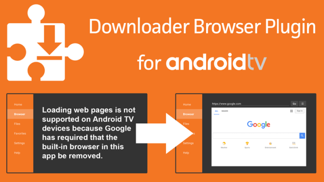 Browser Plugin now available for Downloader app on Android TV | AFTVnews