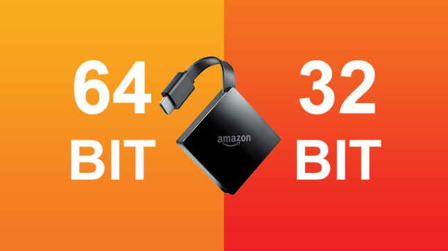 Amazon's Fire TV 3 is a 64-bit device running a 32-bit