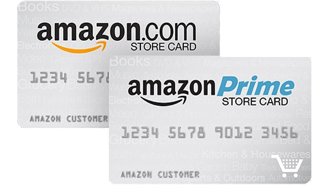 What is amazon store card