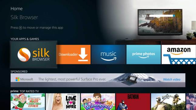 Amazon Releases Their Silk Web Browser For The Amazon Fire Tv Aftvnews