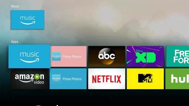 Android Tvs Leanback Launcher Has Been Modified To Run On The