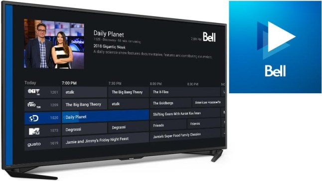 Bell TV in Canada has brought its TV services to the Amazon