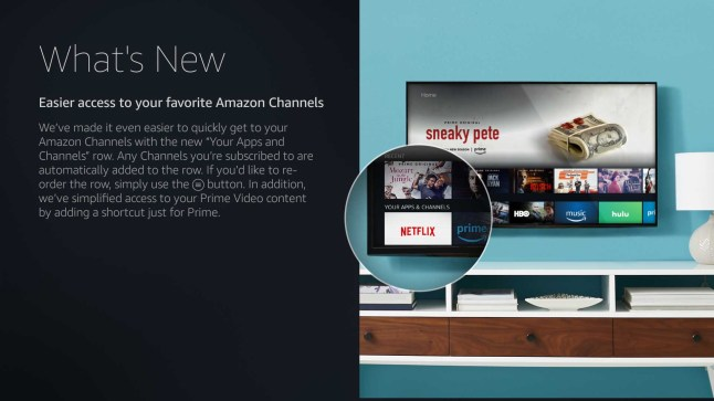 Fire TV update adds new Prime Video interface and makes Amazon
