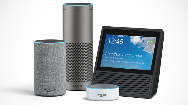 Refurbished Echo, Echo Dot, Echo Plus, Echo Show, and Tap are all on sale
