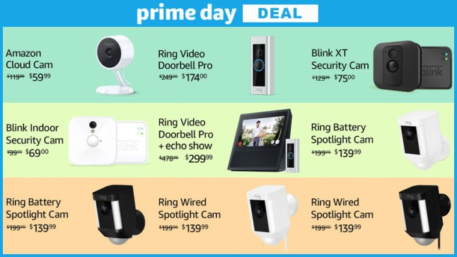 Amazon, Blink, and Ring cameras on sale for Prime Day — 50