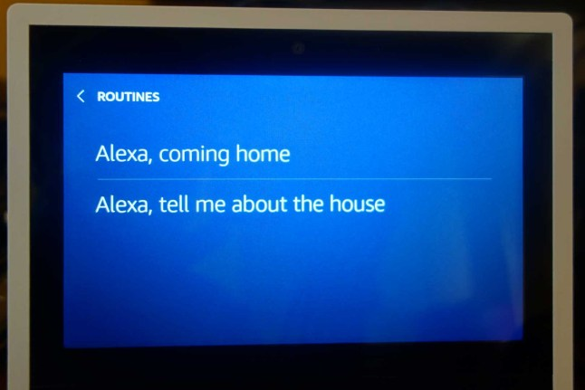 Amazon Echo Show software update adds Web Browser, Smart Home