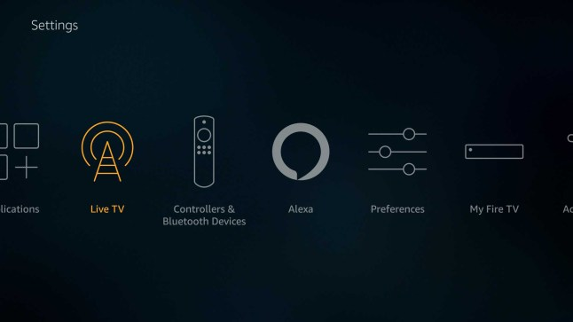 Amazon Fire TV, Fire TV Stick, and Fire TV Edition software