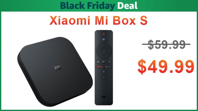 Xiaomi Mi Box S is on sale for $49 99 — Add a Google Home Mini for