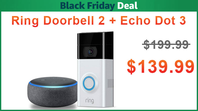 ring doorbell for sale 2003 land rover discovery radio wiring diagram video 2 echo dot 3 bundle is on 139 99 update now amazon