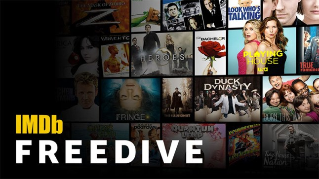 IMDb Freedive is Amazon's new free ad-supported Movie and TV