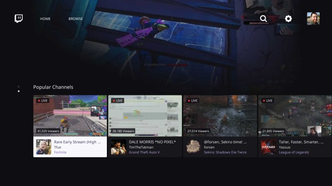 Twitch app for Amazon Fire TV receives major redesign with