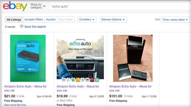 Amazon Echo Auto sees temporary price increase and begins