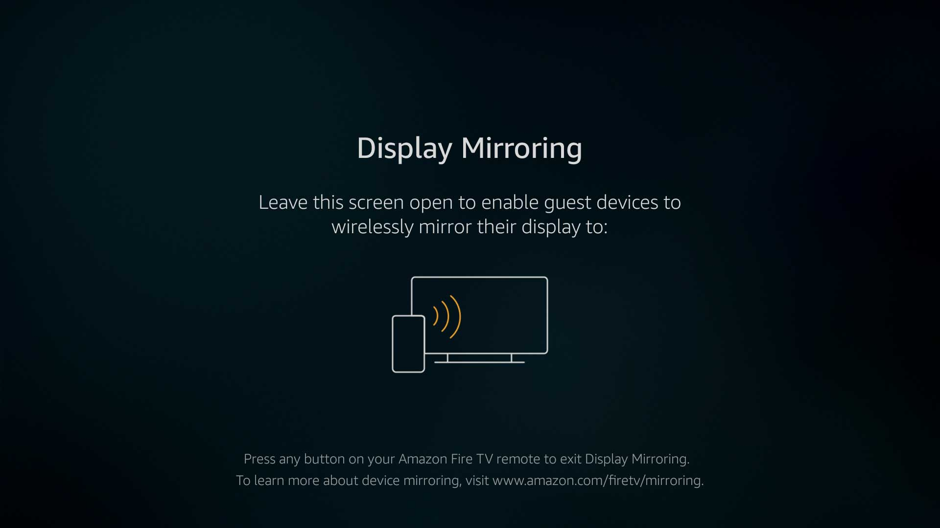 How do i screen mirror my iphone to my amazon fire stick
