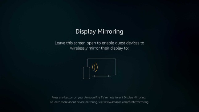 Amazon Fire TV Stick 4K gains Miracast screen mirroring with