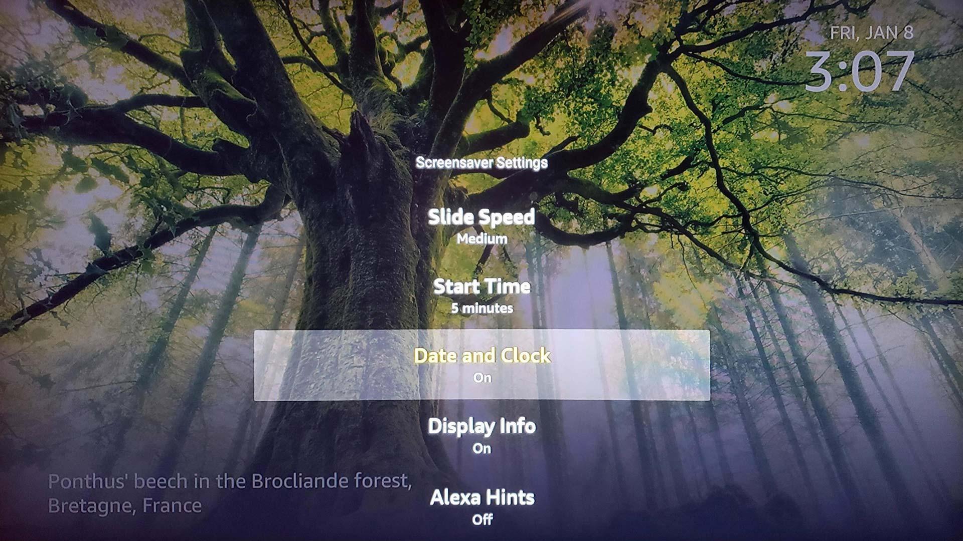 Fire Tv Screensaver Gains Date And Clock Display Option Aftvnews