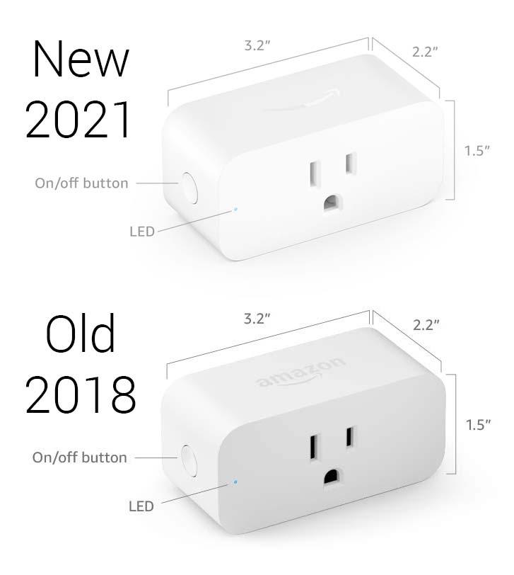 Amazon quietly releases new Amazon Smart Plug model