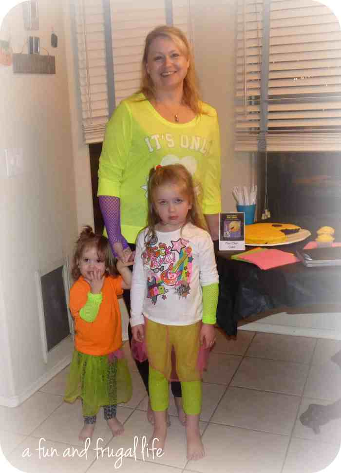 80's theme party from A Fun and Frugal Life