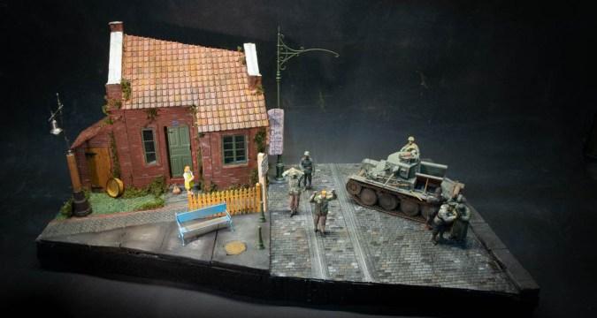 1/35 Diorama - Panzer 38T