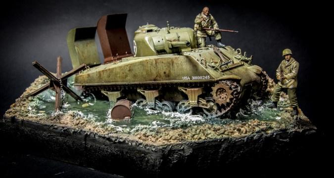 Sherman Deep Wading US ARMY
