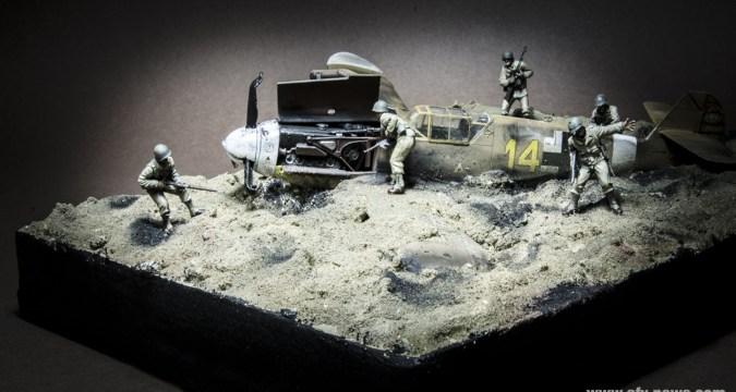 The Desert Eagles Diorama