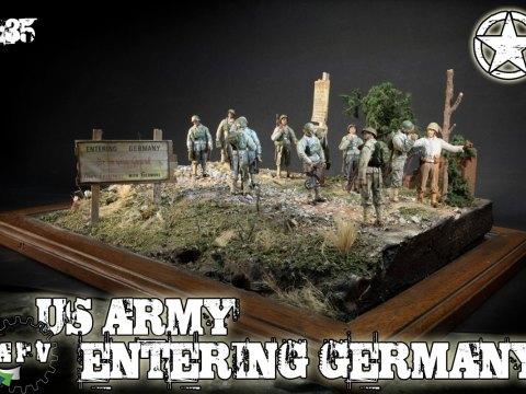 US ARMY DIORAMA