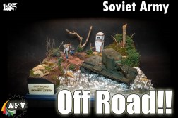 KV2 SOVIET HEAVY TANK DIORAMA