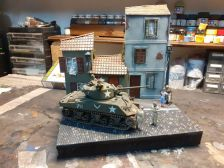 ITALIAN NIGHTS - US ARMY SHERMAN