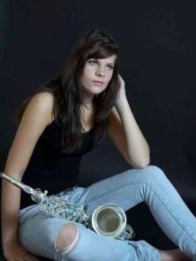 20 Saskia van den Broek Meisje met sax 1