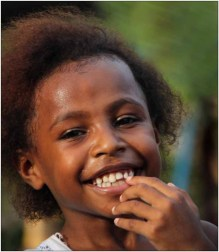 2014 Harry Rappange Papua meisje