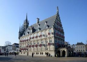 Stadhuis Gouda DSC_5323 bw