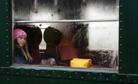 FOTO ONLINE 2018-01 Ton van Boxsel Meisje in trein 20 pnt