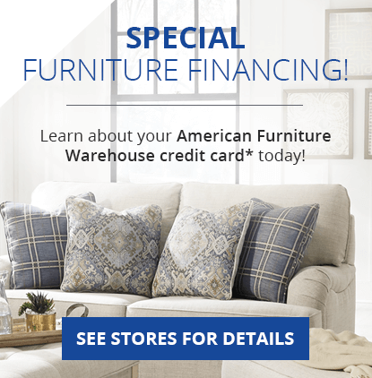 bad credit financing living room furniture large wall murals for made easy american card afw apply your warehouse today